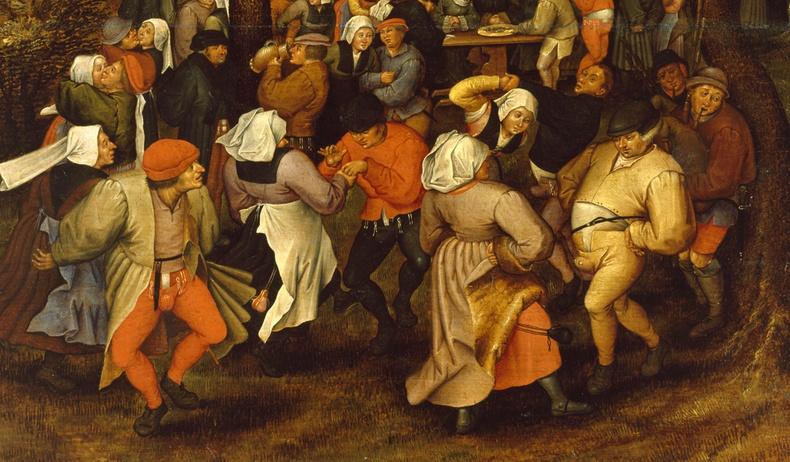 """Дундад зууны Европыг айдаст автуулж байсан """"бүжиглүүлдэг"""" тахал"""