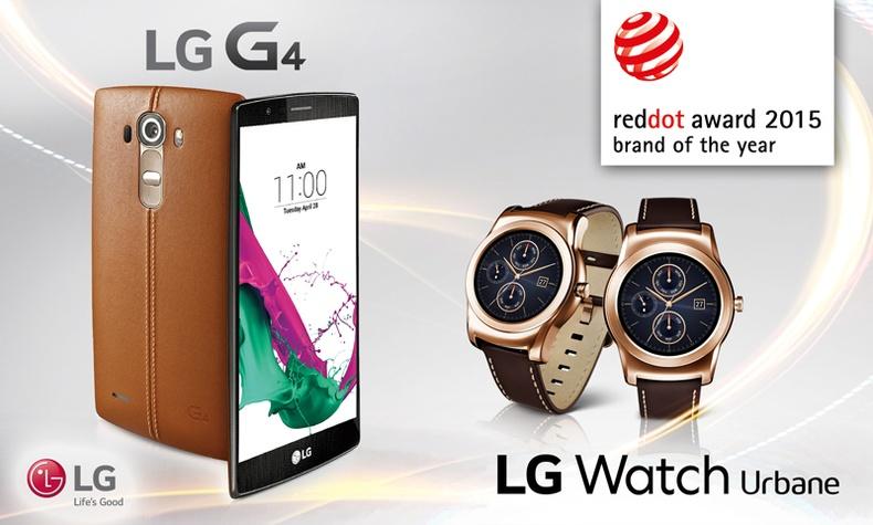 """""""Red Dot"""" шагналын шүүгчид """"LG"""" компанийг 2015 оны брэнд гэж хүлээн зөвшөөрөв"""