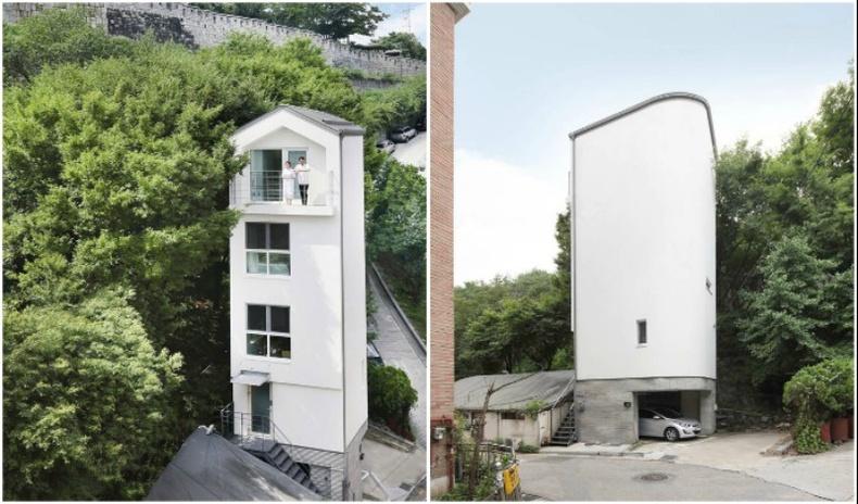 20 м.кв газар 5 давхар байшин барьсан Солонгосын архитектор