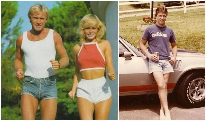 """Өнөө цагт ичмээр санагдах 70-аад оны эрчүүдийн """"тачаангуй"""" шортны трэнд (30 фото)"""