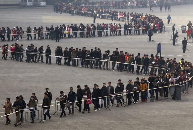 Хятадыг хамгийн олон хүн амтайгэдгийг батлах сүрдмээр гэрэл зургууд