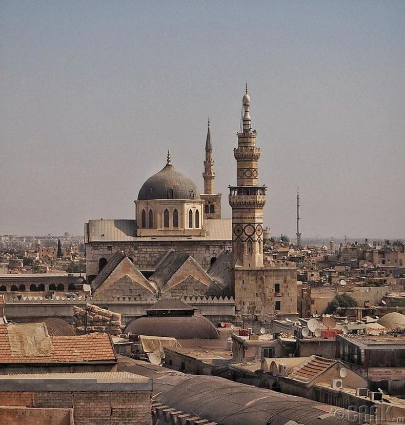 Исламын хамгийн ариун дагшин газруудын нэг болох Умайяад Москүе