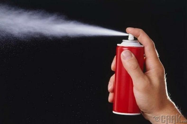 Чинжүүгээр шүршигч/ Pepper spray/