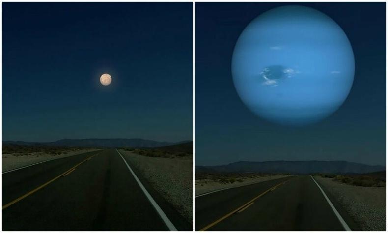 Сарны оронд өөр гараг байсан бол ямар харагдах бол?