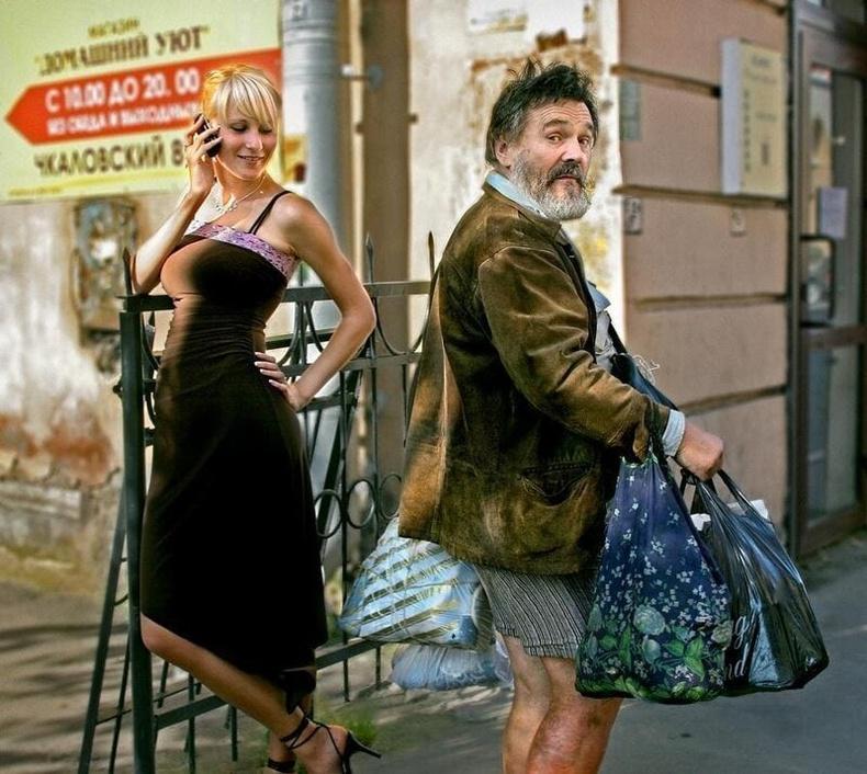 """Оросын л гудамжинд харж болох """"сонирхолтой"""" дүр зургууд"""