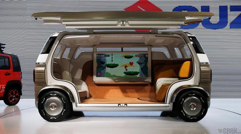 """""""Suzuki Hanare"""" жолоочгүй гэр бүлийн машины төслийн загвар"""