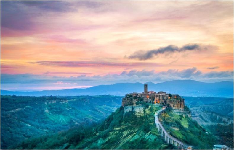 Civita di Bagnoregio, Итали улс