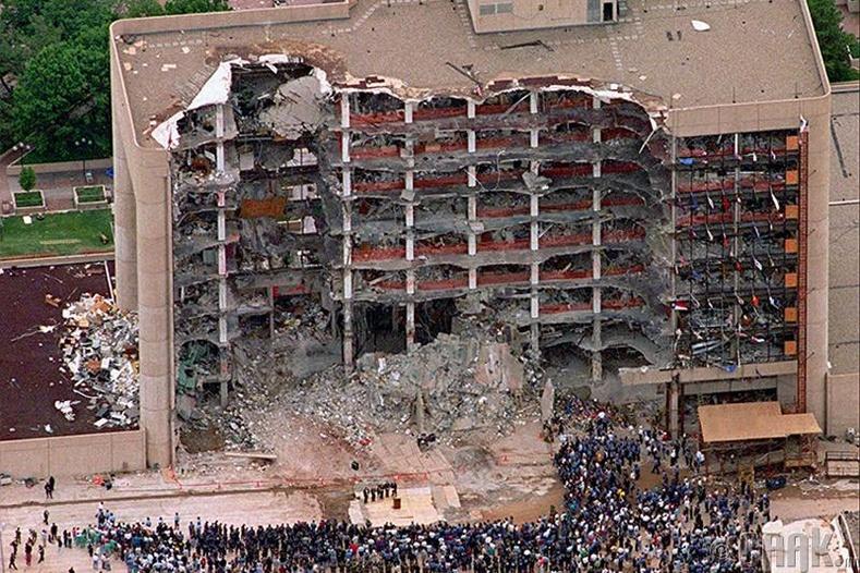 Оклахома (Oklahoma) хотын бөмбөгдөлт