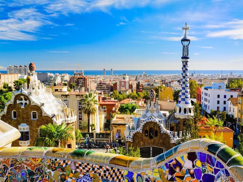 Барселона, Испани (Barcelona, Spain )