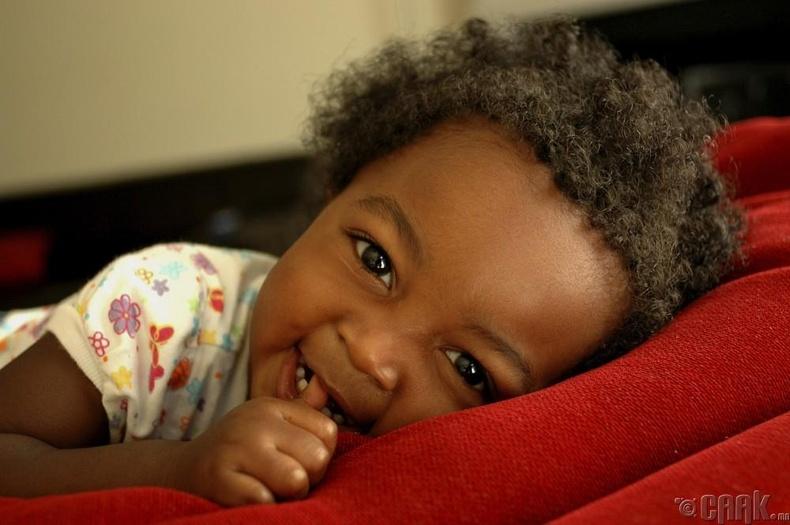 Мум-Зи (Нигер) - 8 нас 4 сартайдаа ээж болсон