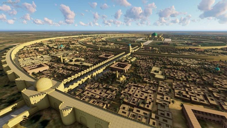 Багдад хот Монголчуудын довтолгоонд өртөхөөс өмнө ийм байв
