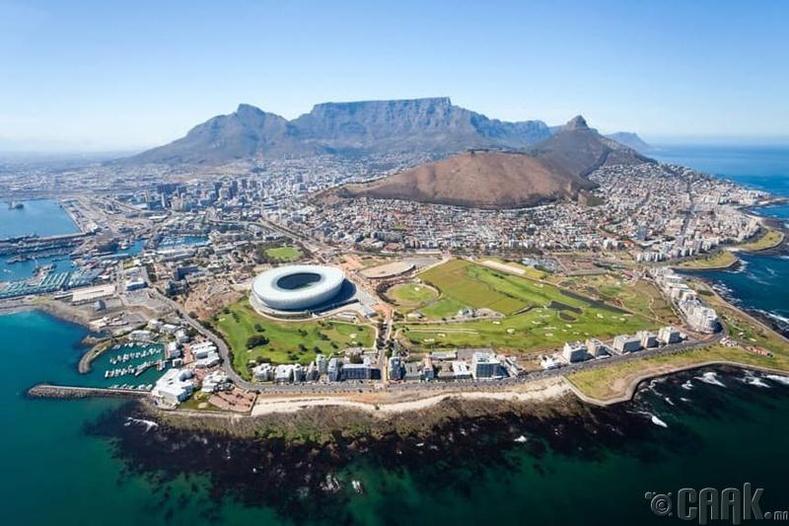 Кейптаун хот, Өмнөд Африкын Бүгд Найрамдах Нэгдсэн Улс