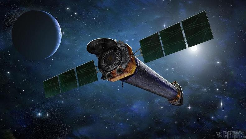 """""""Chandra"""" сансрын ажиглалтын төв"""