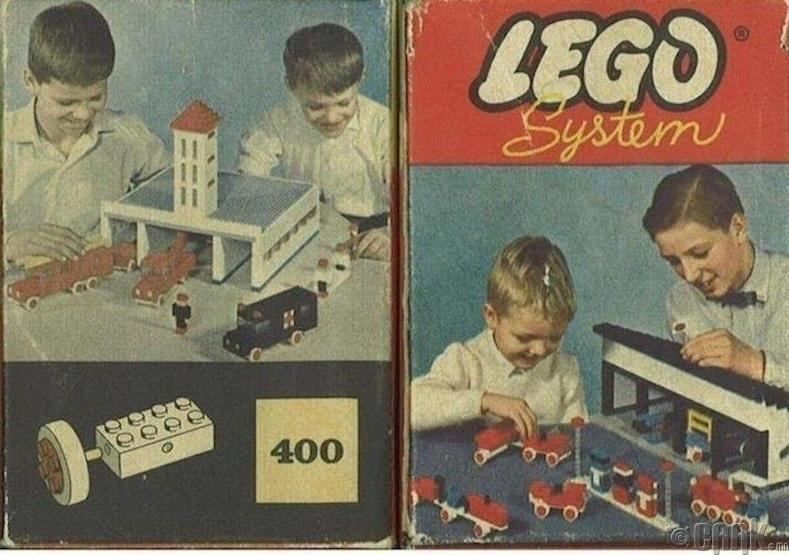 Анхны машинтай Лего тоглоом, 1961