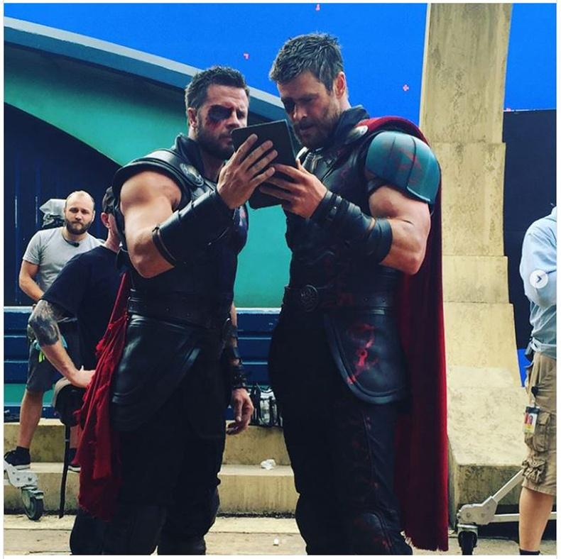 "Крис Хэмсворт (Chris Hemsworth) ""Thor Ragnorock"" кино"
