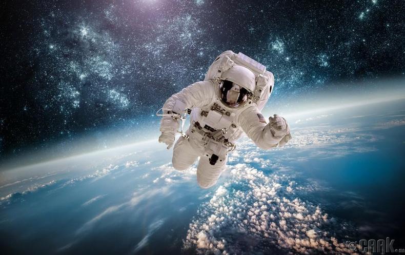 Сансрын нисгэгчид амь насаа даатгуулсан байдаг