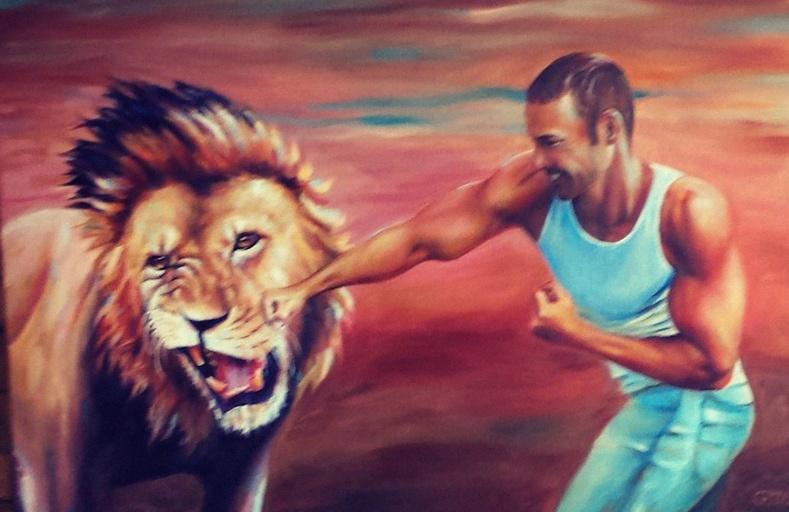 Эрчүүдийн 10 хувь нь өөрийгөө арслантай тулалдаад ялж чадна гэж боддогийг судалгаагаар тогтоожээ