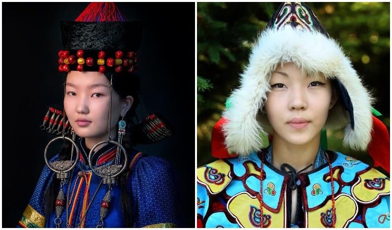 """""""Умардын гоо үзэсгэлэн"""" - Сибирийн үндэстэн, ястнуудын гайхалтай хөрөг зургууд (17 фото)"""