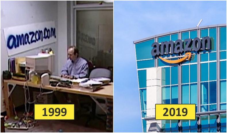 Алдартай компаниуд эхэн үедээ ямар байсан бэ?