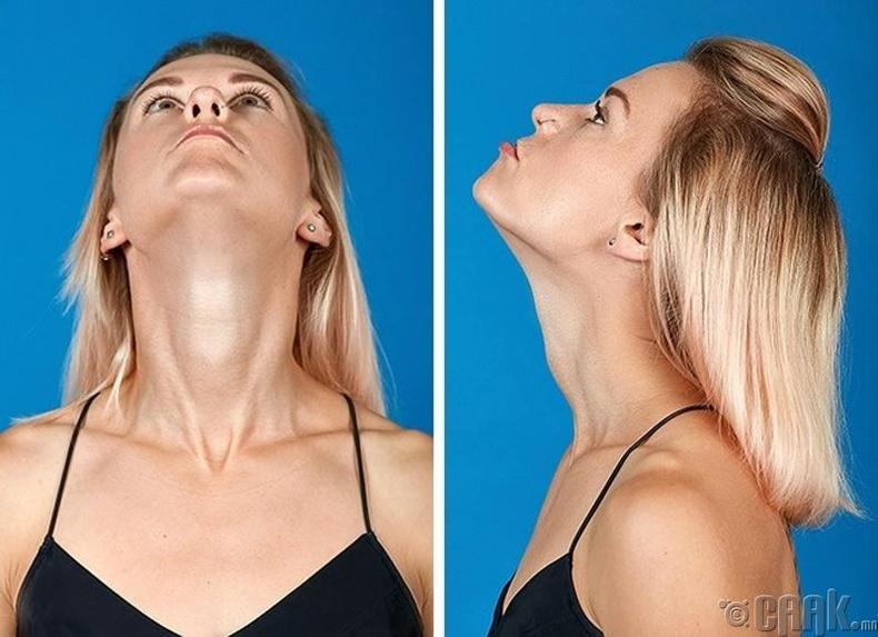 Хүзүүний булчинг чангалах