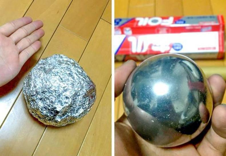 Япончуудын дуртай хобби: Тугалган цаасаар хийсэн бөмбөлгийг өөгүй болтол нь зүлгүүрдэх