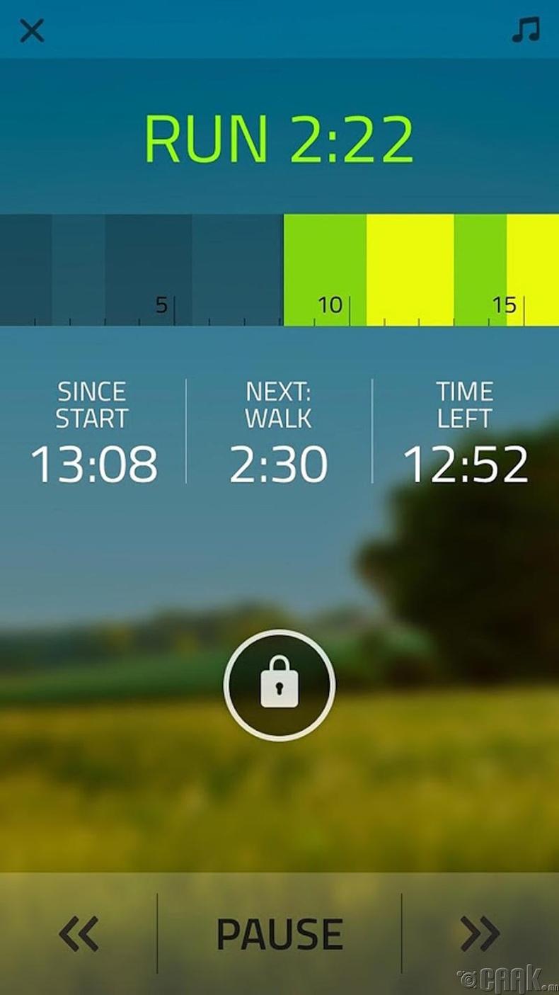 """5K Run"" гүйлтийн аппликейшн"