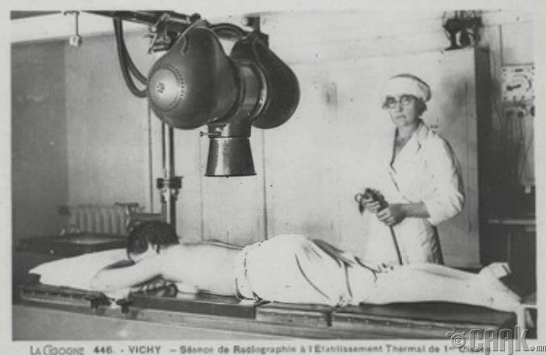 Анхны рентген аппарат