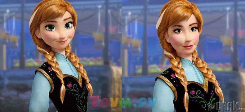 Анна, Frozen