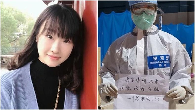 Коронавирустэй тэмцэж буй ганц бие сувилагч бүсгүйн Хятадын төрд тавьсан хүсэлт