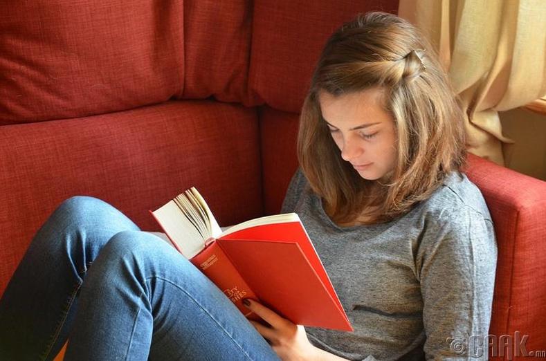 Ном унших үед хараа муудахгүй