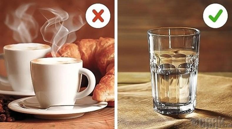 Гэрээсээ гарахаас 30 минутын өмнө халуун цай уух