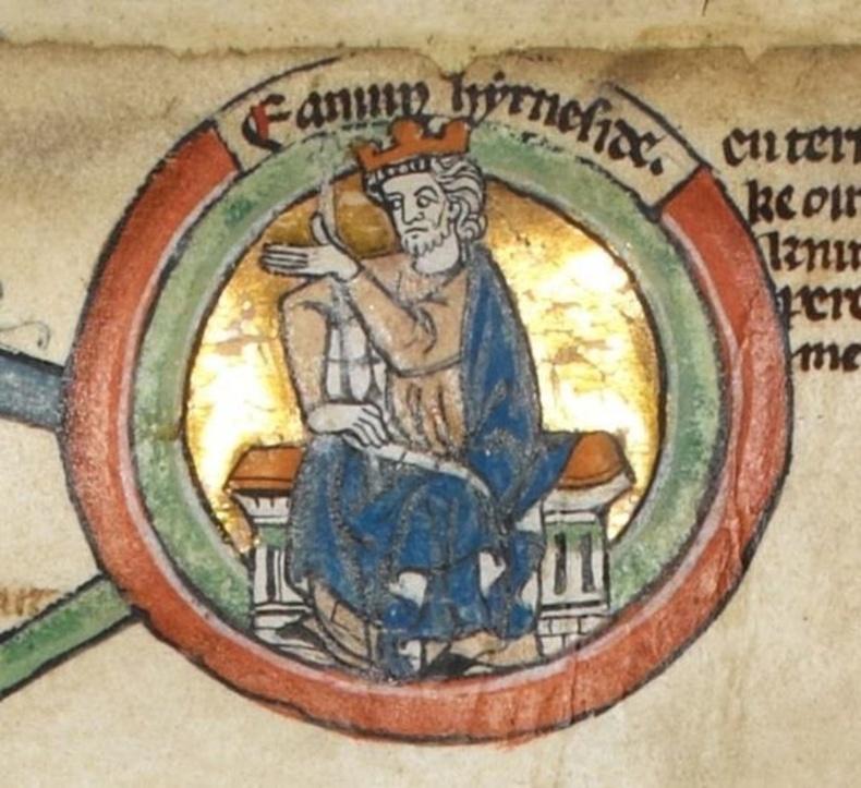 Английн хаан Эдмунд - Бие засаж байхдаа хавчаахайд харвуулж үхсэн