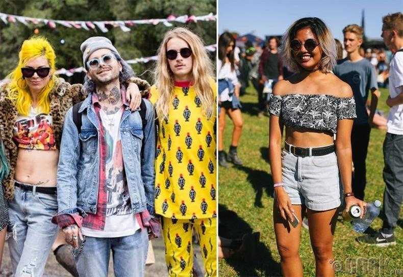 Австралийн галзуу фестивалийн эргэн тойрондох загварлаг залуус