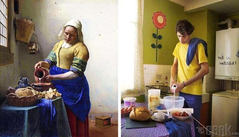 """Ян Вермеер (Jan Vermeer) - """"Саальчин"""""""