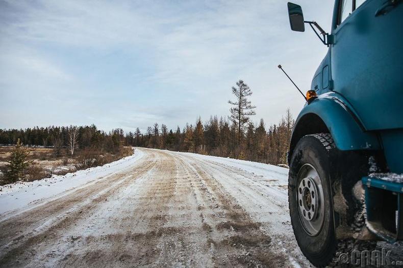 Сибирийн зам цельсийн хасах 30 хэмийн хүйтэнд