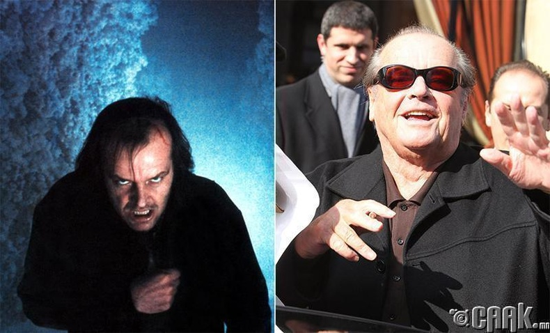 "The Shining"" киноны Жек Торренс - (1980) - Жек Николсон (Jack Nicholson)"