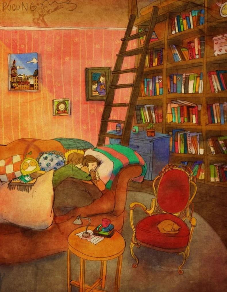 Хамтдаа унтах