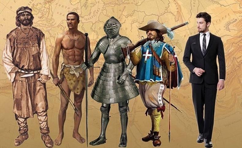 Түүхийн уртад хүний дундаж өндөр хэрхэн өөрчлөгдсөн бэ?