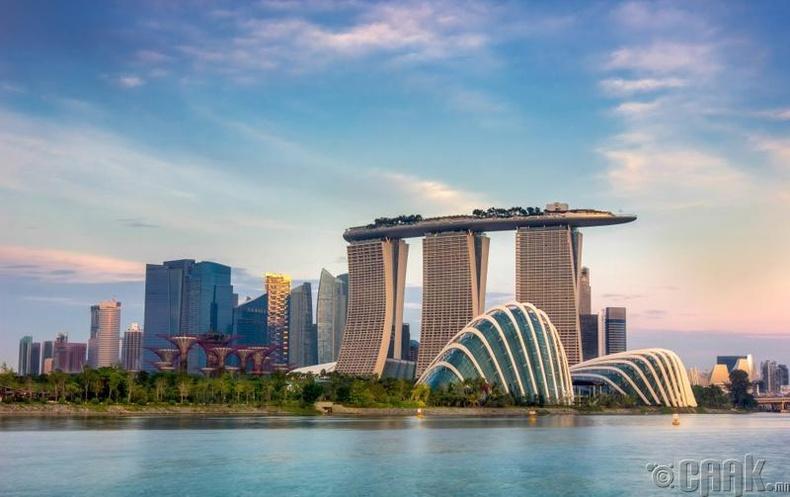 Сингапур - 61,567 доллар