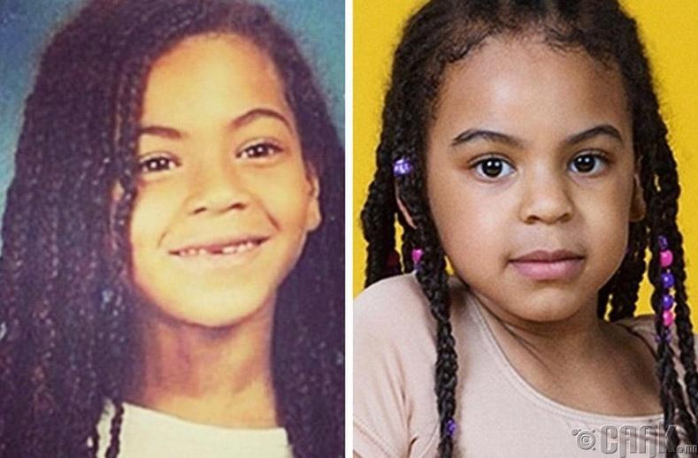 Дуучин Бейонсе (Beyonce) болон түүний охин Блу Айви (Blue Ivy)