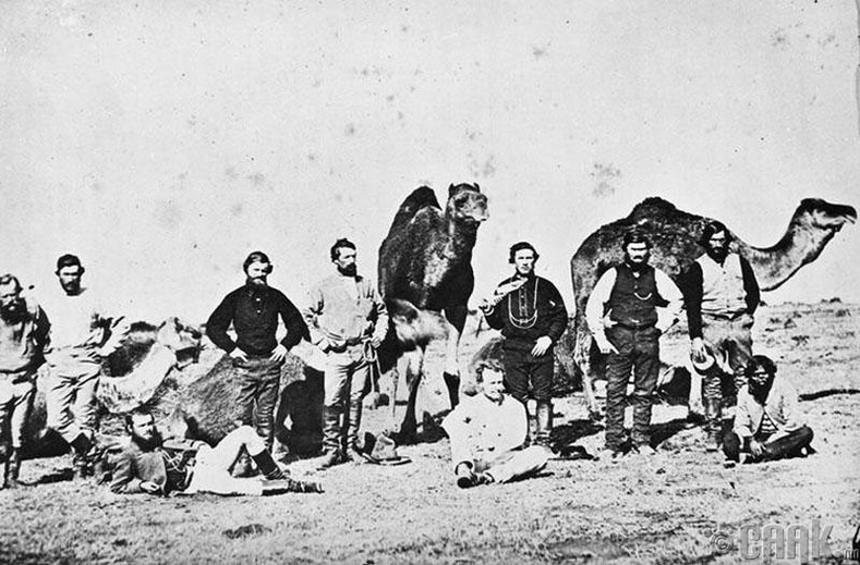 Людвиг Лейхгардтагийн судалгааны баг (1848 он)