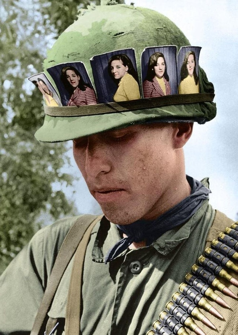 Америк цэрэг хайртай бүсгүйгээ саналзсан нь, Вьетнам, 1968 он.