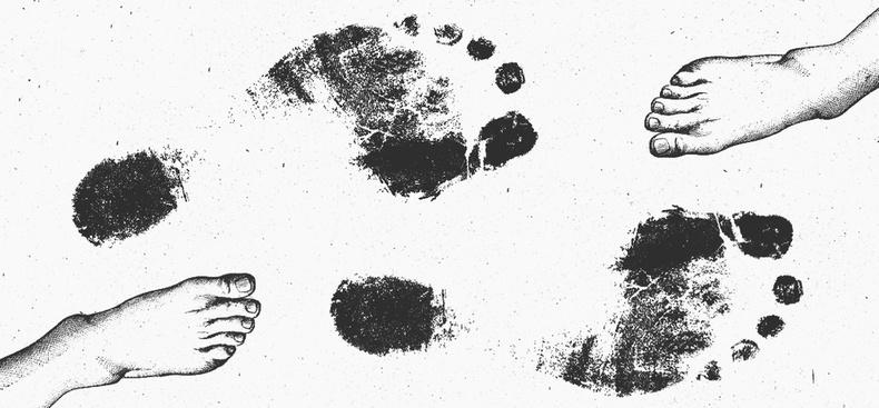 Хөлийн хурууны хээ