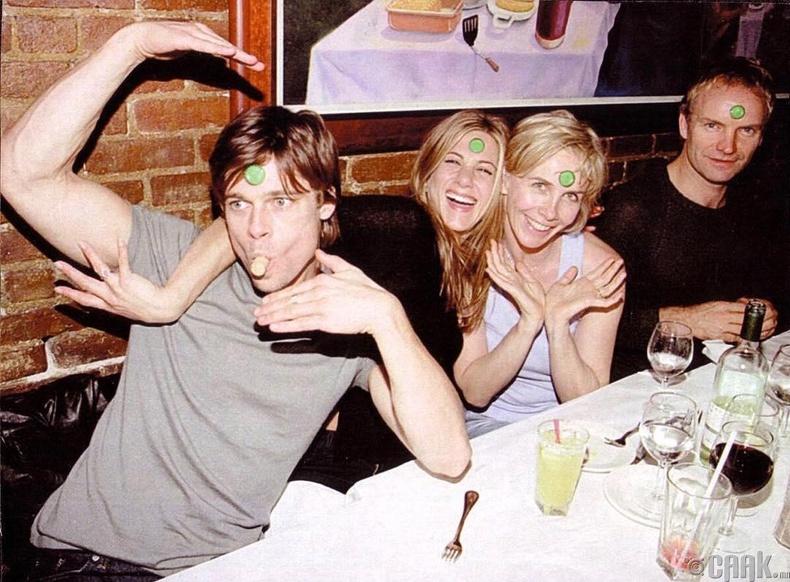 Брэд Питт, Женнифер Анистон (Brd Pitt, Jennifer Aniston) нар 1999 онд