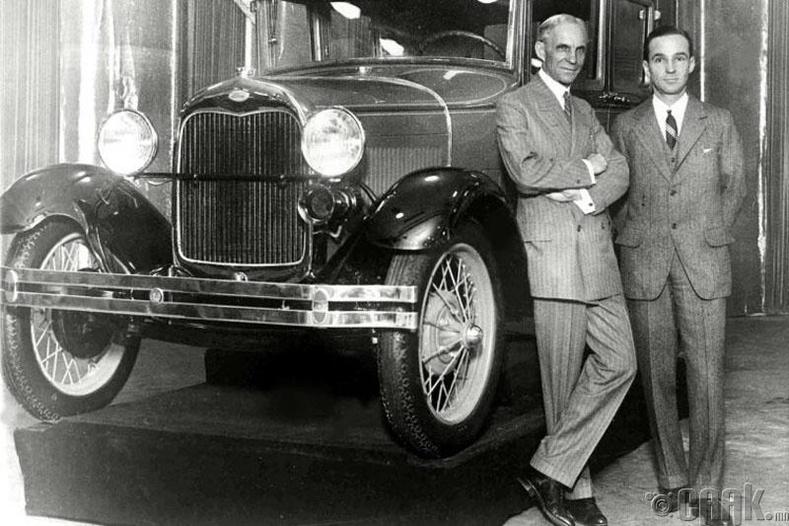 Хенри Форд машин зохион бүтээгээгүй