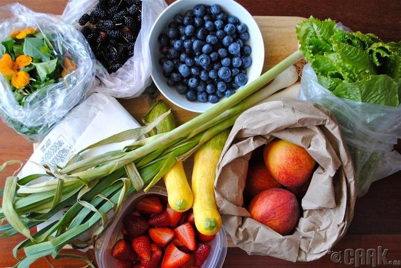 Идэх дуртай зүйлээ жимс, ногоогоор орлуулан хэрэглэх