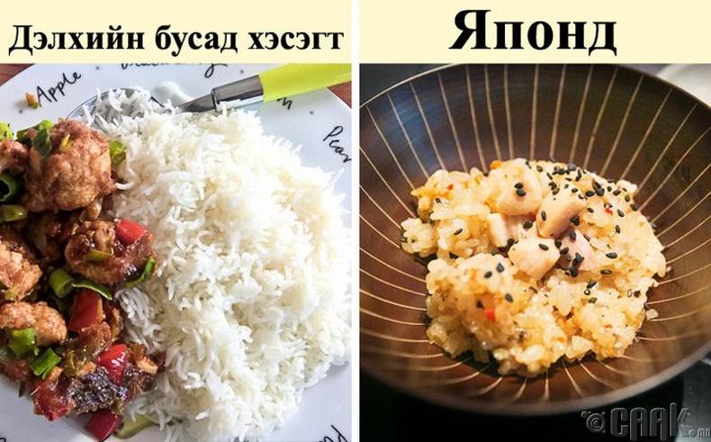 Хоолны хэмжээ