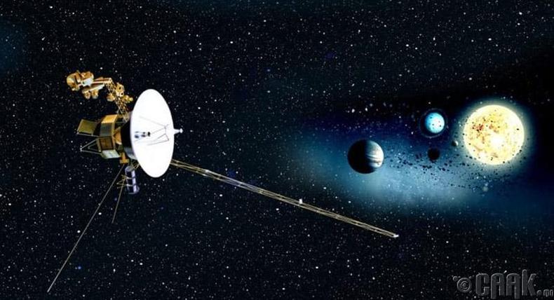 """Voyager 1 болон 2"""
