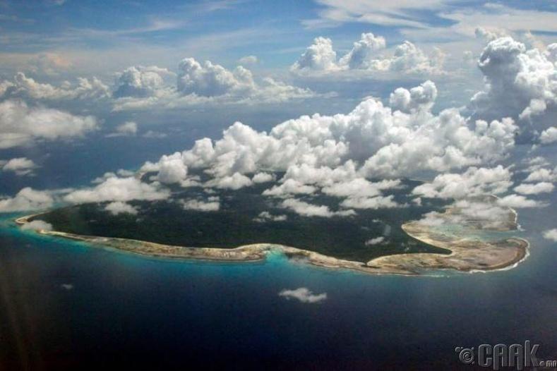 Хойд Сентинел арал (North Sentinel Island)