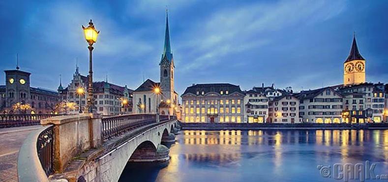 Цюрих - Швейцарь